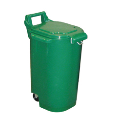 Green 13 gallon toter